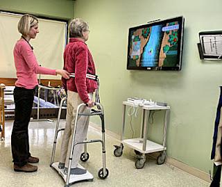 Wii balance board rehabilitation rehabilitacion fisioterapia equilibrio wiihab